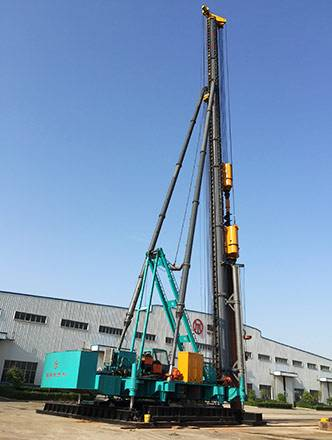JBY80 Hydraulic Walking Pile Frame