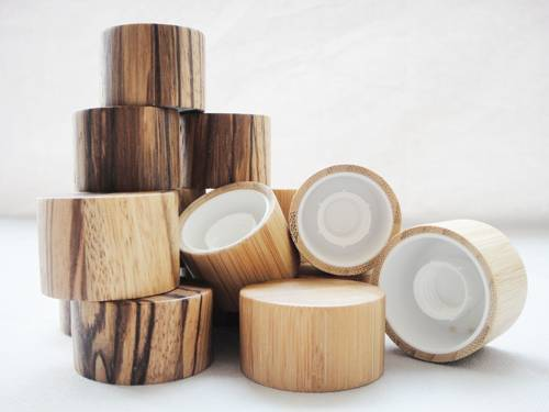 screw cap for cosmetic tubes,wood cap for flexible tubes,bamboo cap for soft tubes