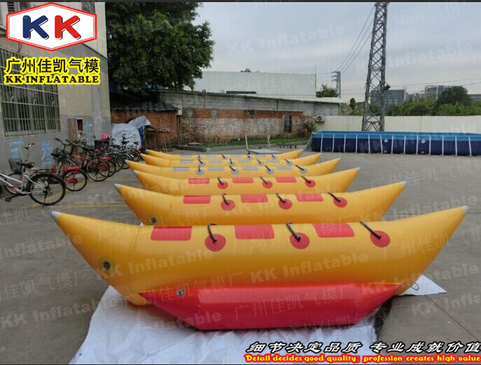 3 Persons Inflatable Leisure Banana Boat Water Game inflatable floating boats