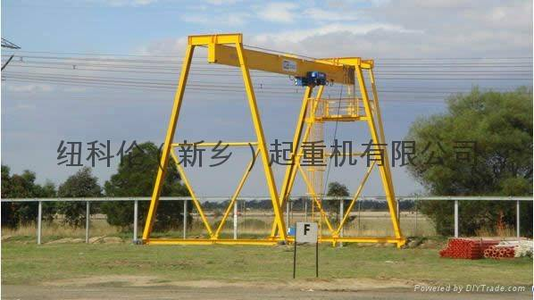 World Advanced Single Girder Goliath Crane
