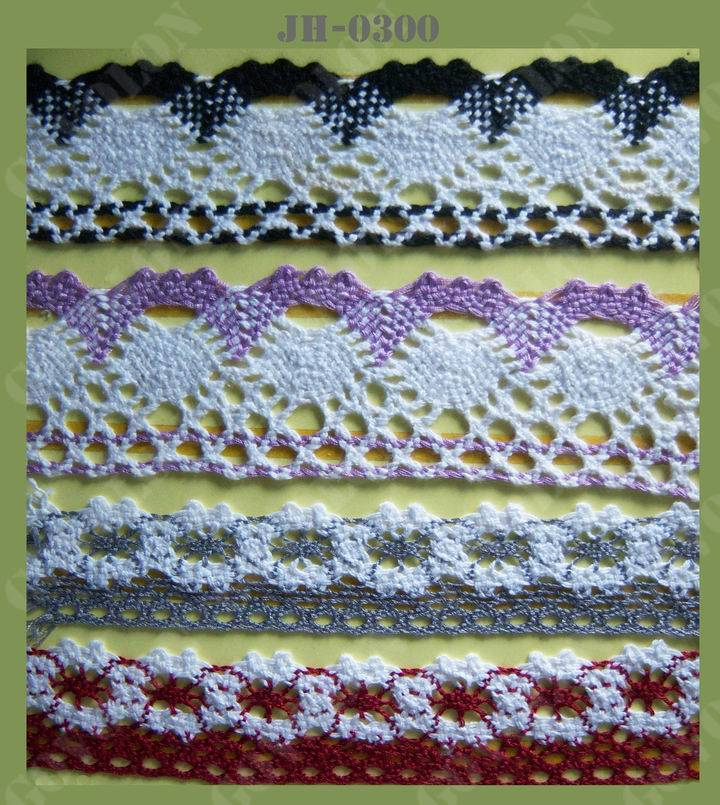 Cotton Crochet Lace (JH0300)