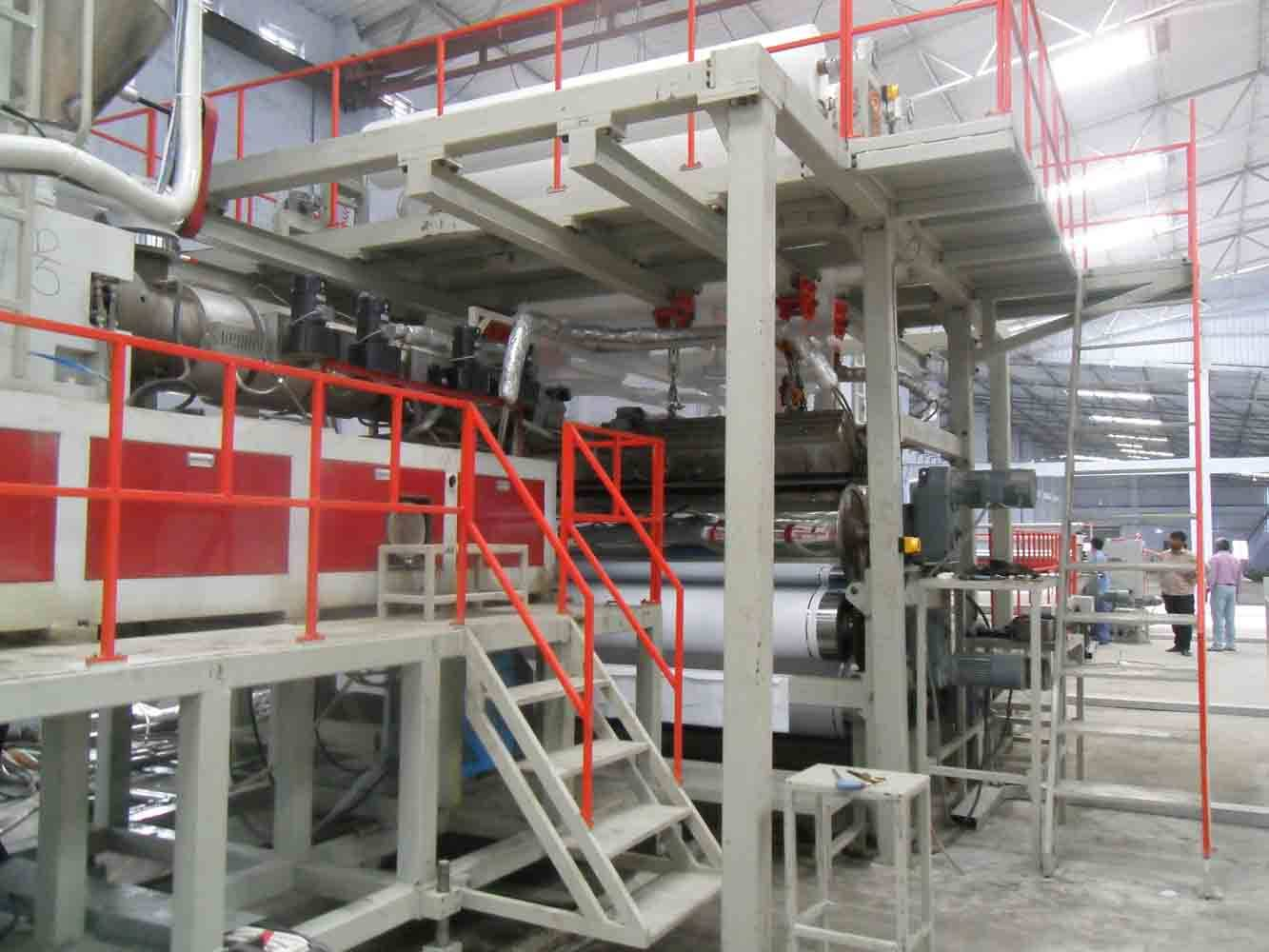 PVC flex banner/ tarpaulin making machine/production line