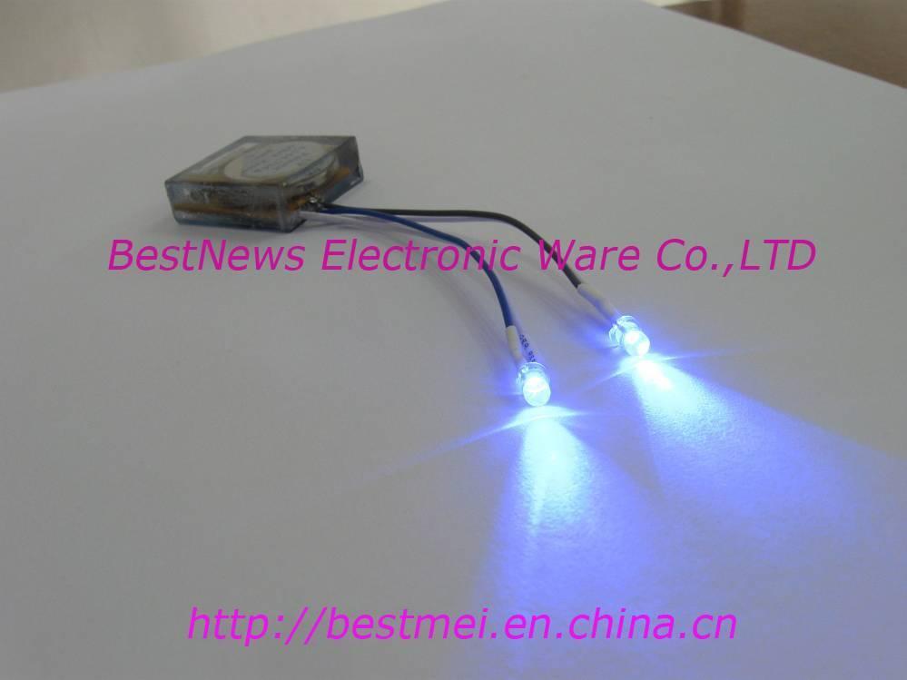 LED flash shoes module