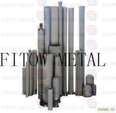 Microns Porous Sintered SUS316L Titanium Metal Dust Filters