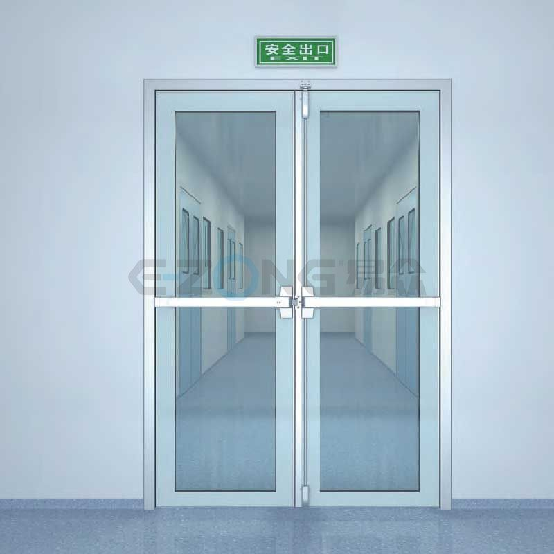 50# glass swing door(door leaf thickness 50mm)