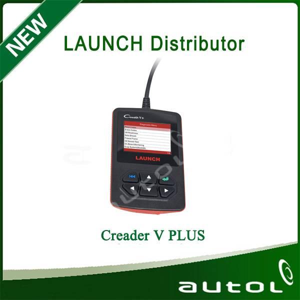 High Quality OBD Code Reader Creader V+ With New Function Launch CReader V +