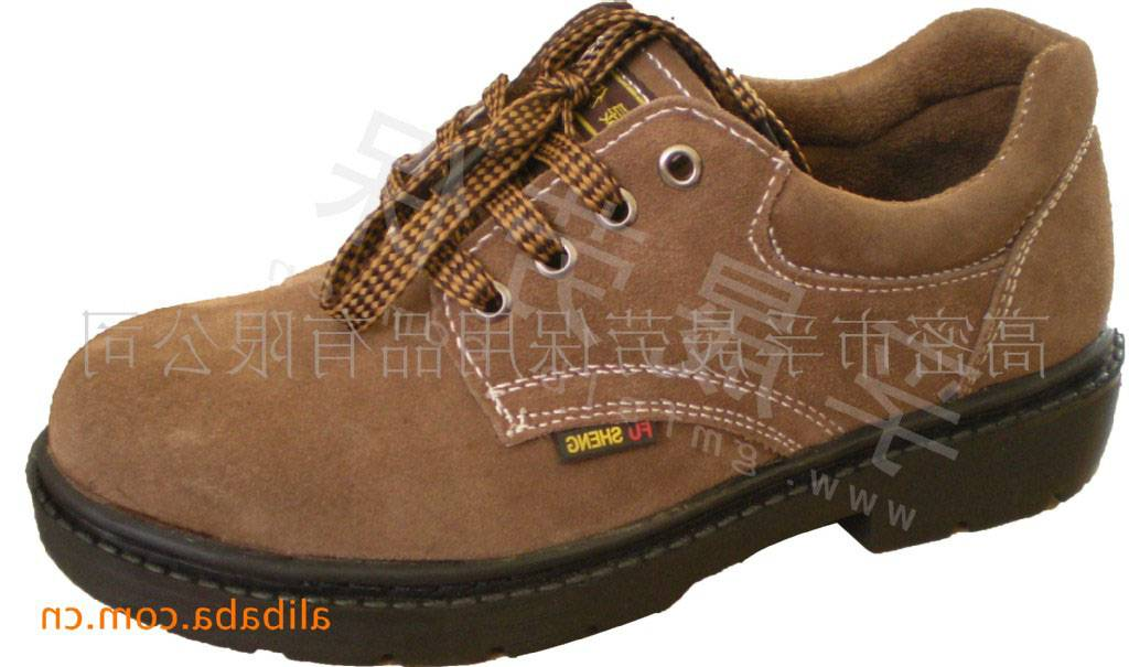 safety shoes, protective shoes leather Fu Sheng FS-305