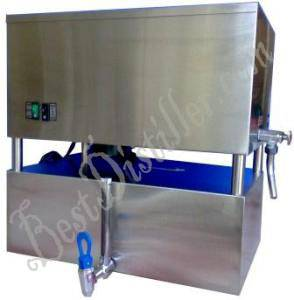Fully automatic water distiller