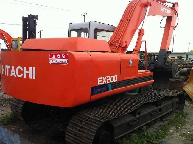 used Construction Machinery EX200-1 hitachi excavator