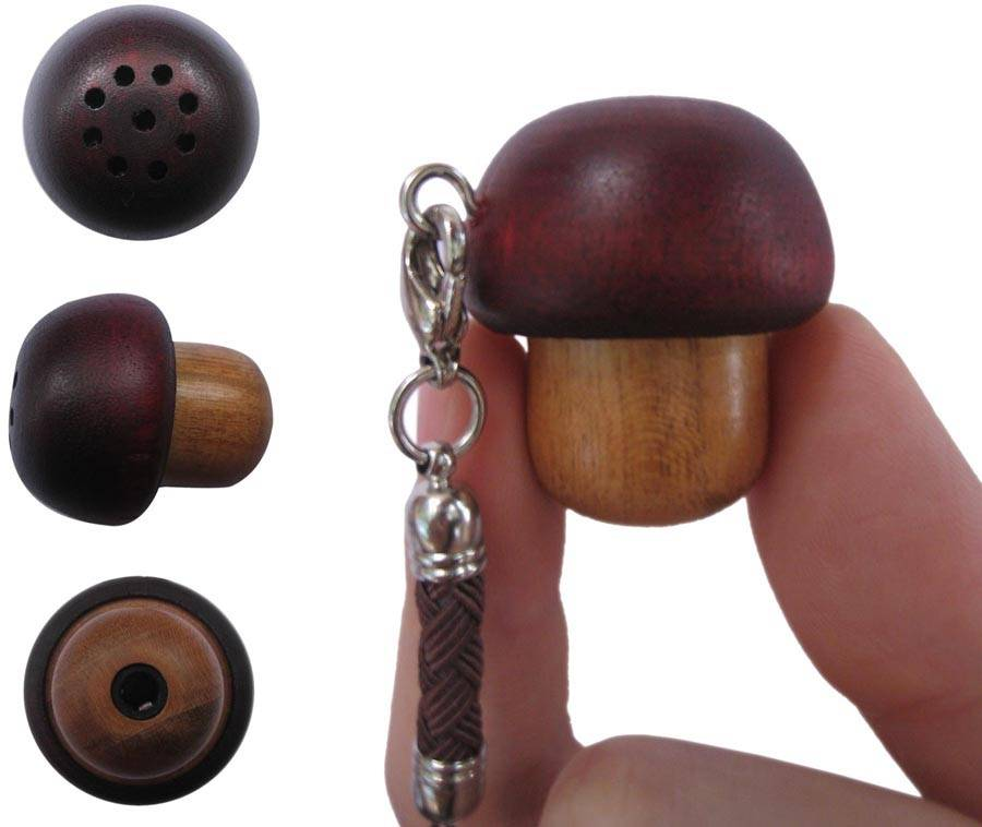 Mushroom shape mini gift speaker