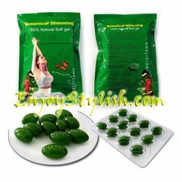 The natural Meizitang Zisu Botanical Slimming Capsule
