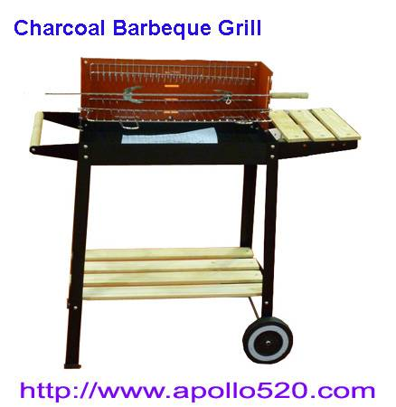 Sell: Charcoal Barbeque Grill with shelves