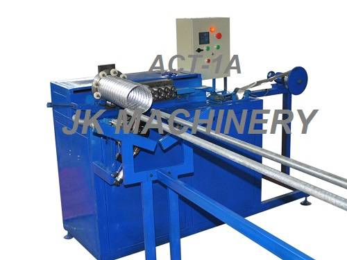 Auto Aluminum duct machine