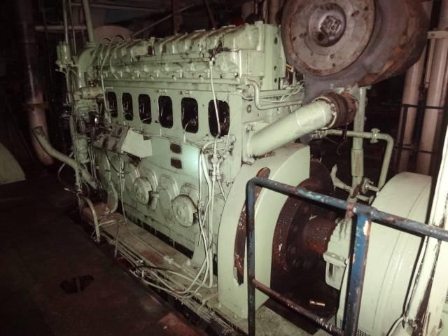 for sale MAN B&W 7L 20/27 diesel engine