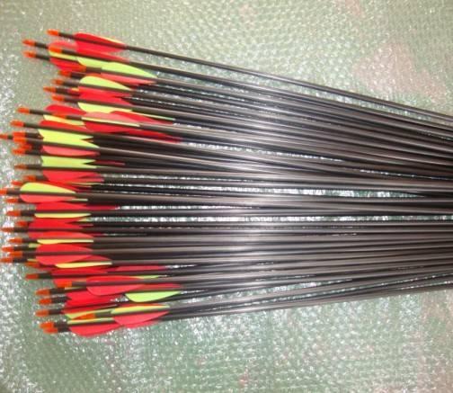 Archery hunting arrow mixed carbon arrow 75cm