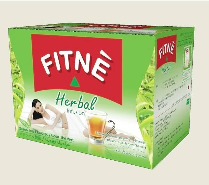 FITNE Herbal Infusion Tea Green Tea Flavor Manufacturer ...