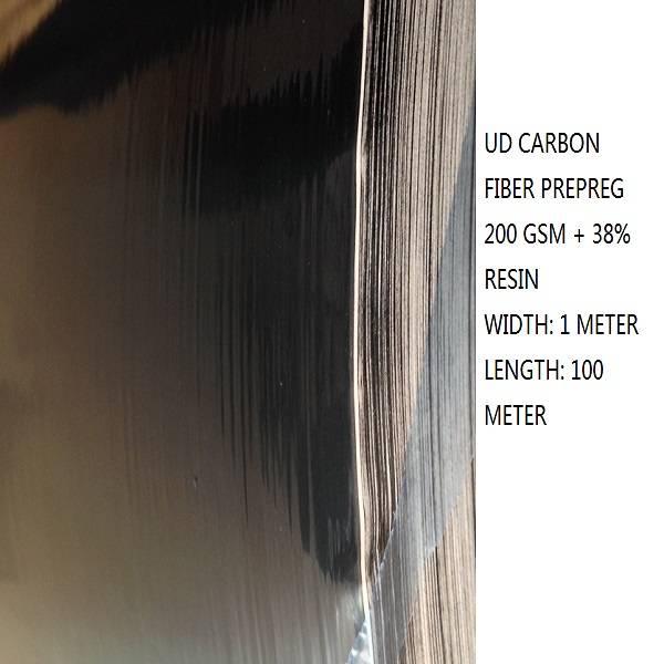 UNIDIRECTIONAL Carbon fiber Prepreg
