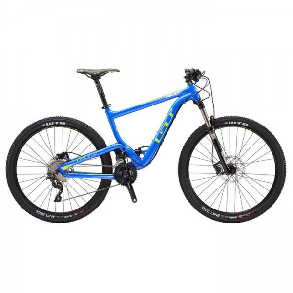 2016 - GT Helion Elite Full Suspension XC Mountain Bike