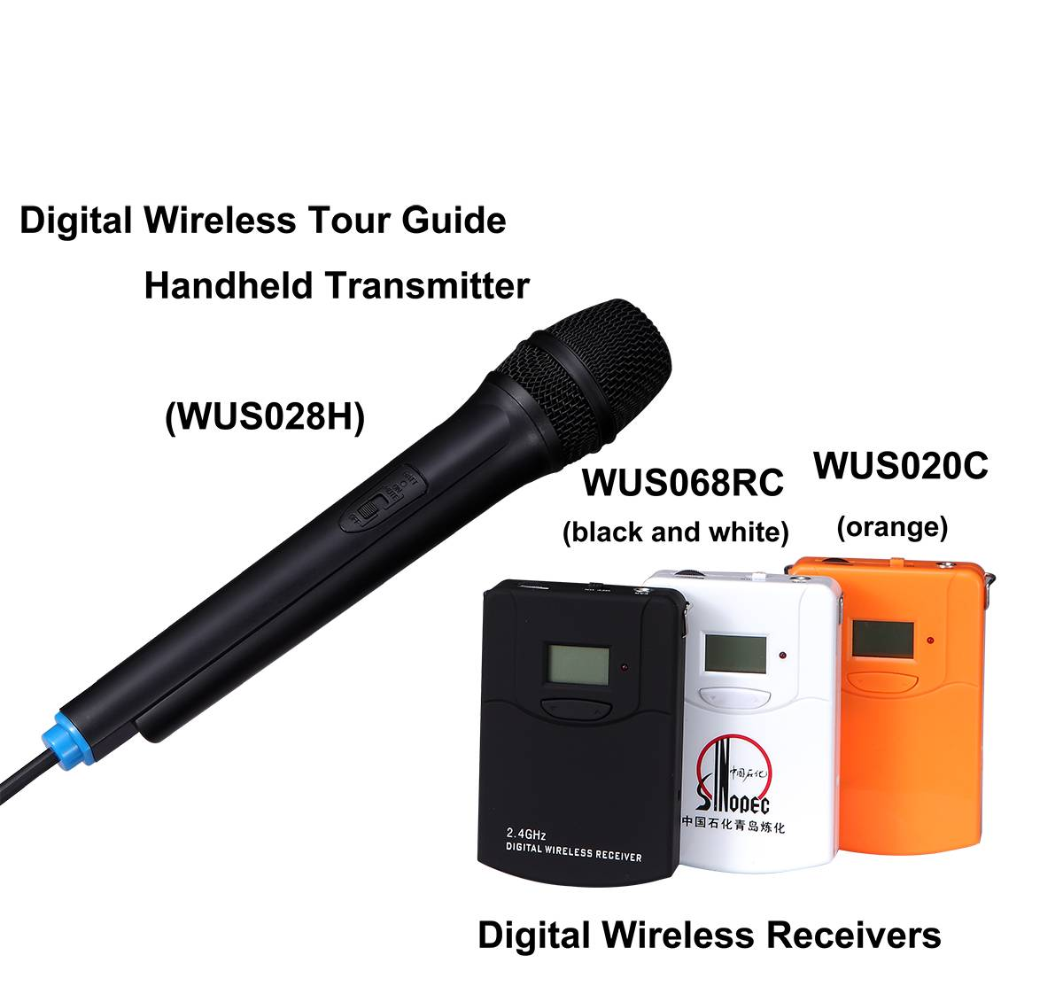 2.4G Digital wireless Conference Systems for voting