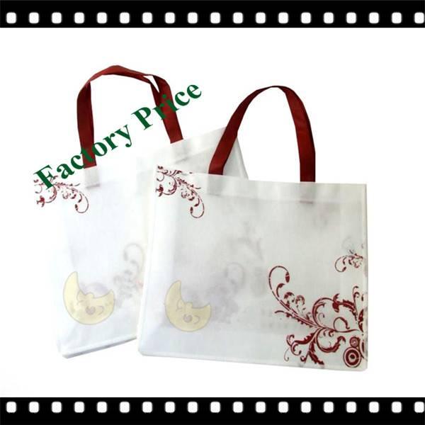 Handmade Custom 80g PP Non Woven Shopping Bag