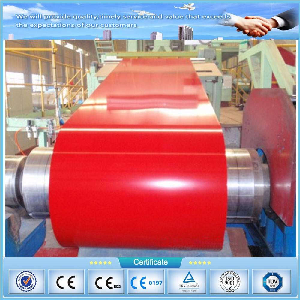 Prepainted galvanized steel coil color coated sheet PPGI PPGL coils