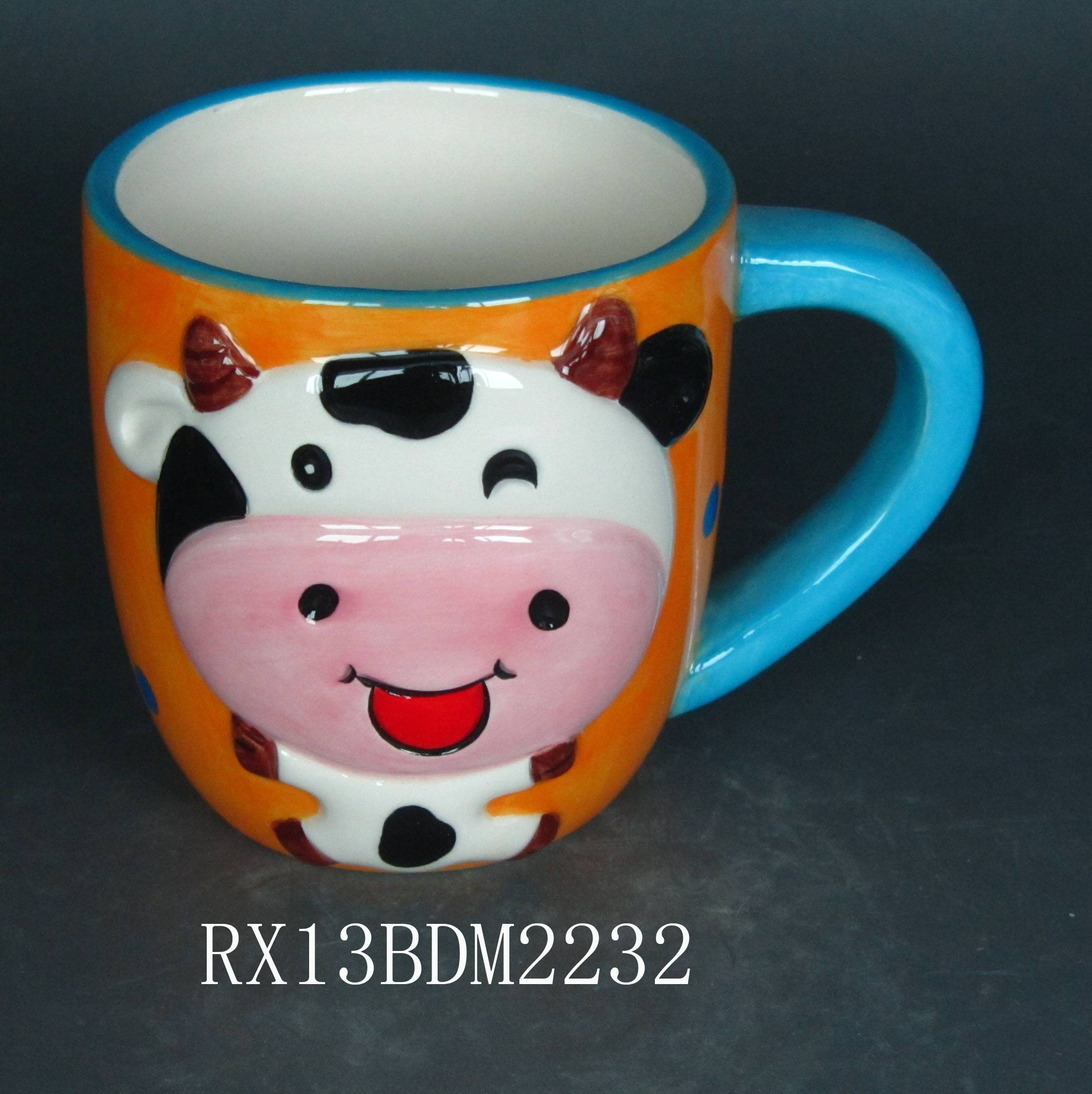 high quality 11oz ceramic sublimation mug color chaning mug