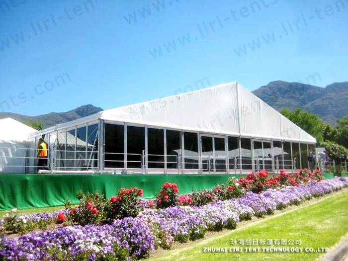 1000 People Glass Wall Wedding Tent for Outdoor Weddings