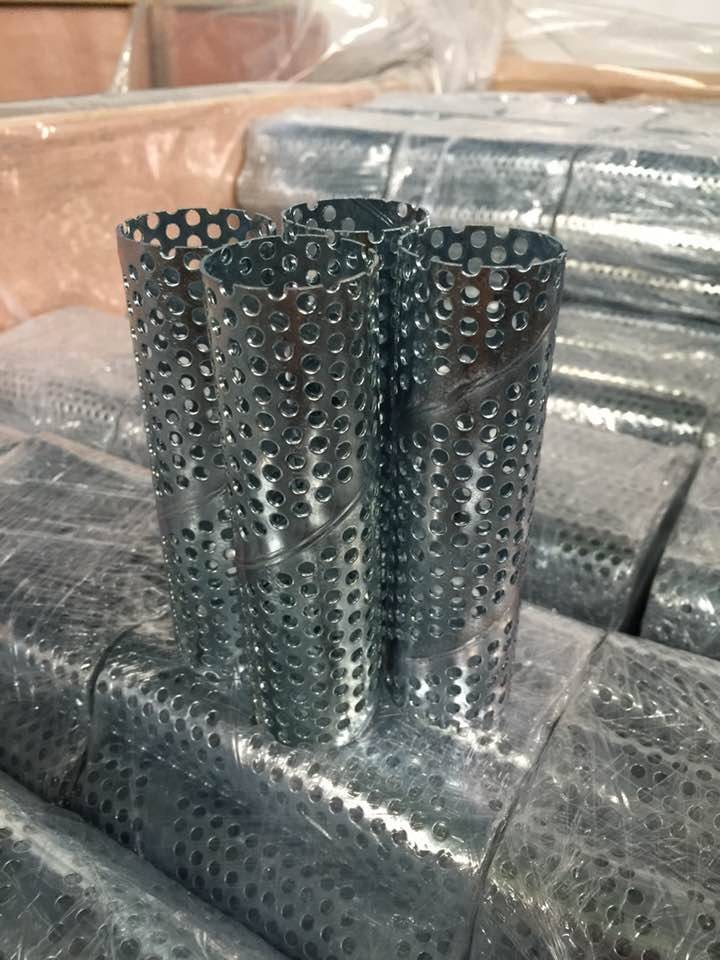 Fiter Element Straight Seam 304 Perforated Metal Center Tubes Frame Center Core