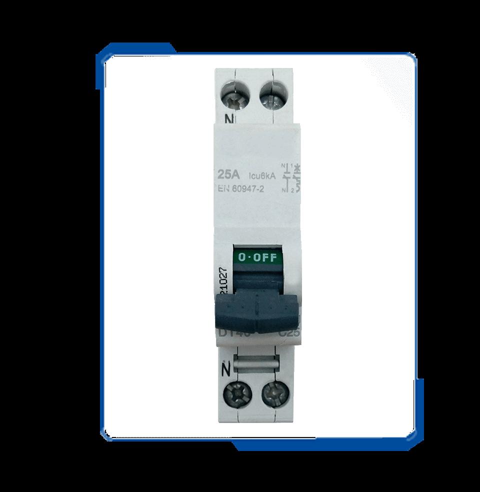 C60 ac current circuit breaker types DPN MCB