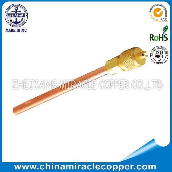 Charging Valve Charging Nipple Copper Solder Valve