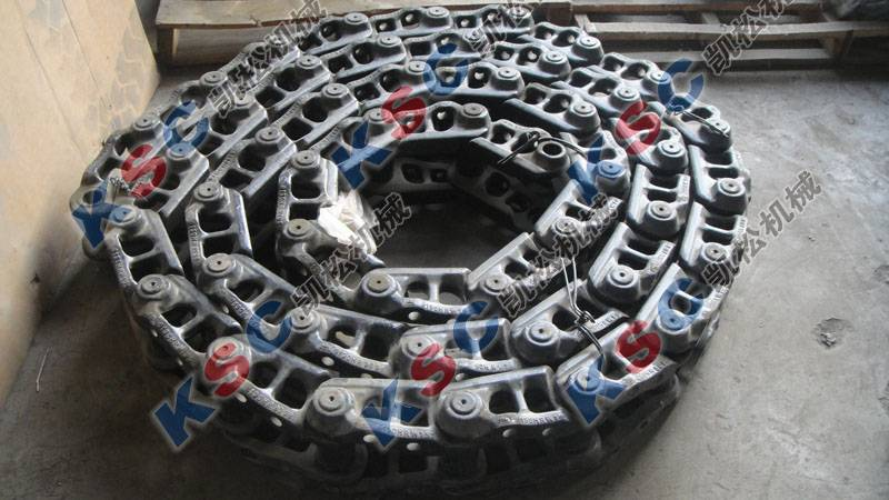 undercarriage excavator track shoe assembly