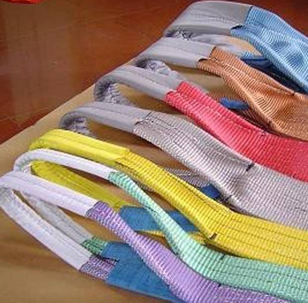 SLN Synthetic fibre double eyes Webbing Sling
