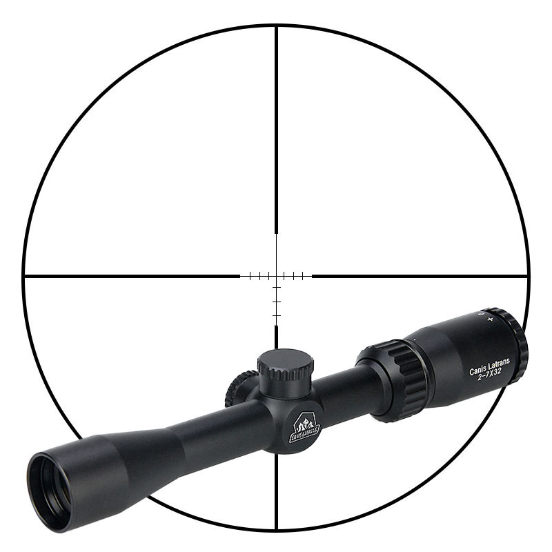 factory price 2-7X40 Gun rifle scope tactical optic sight hunting long range riflescope