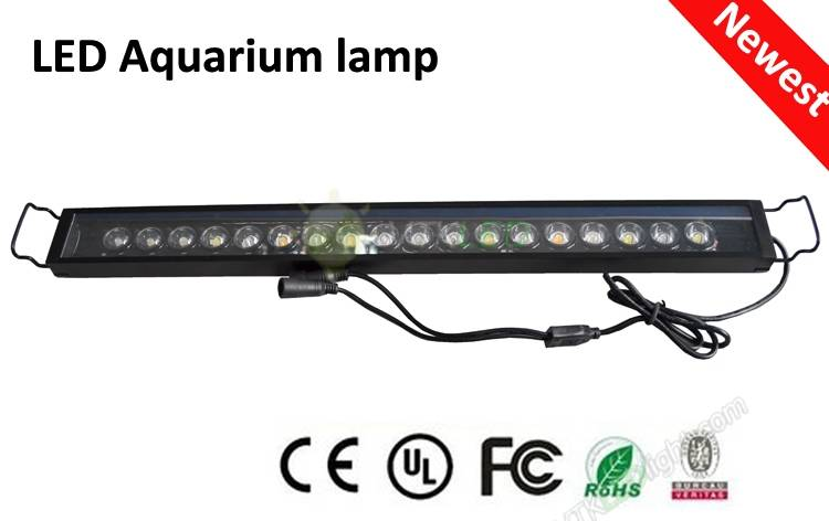 LED Hard Bar 3W18Leds Alu Aquarium Light 12V
