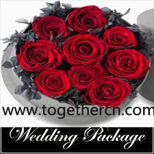wedding flower ball natrual dry rose