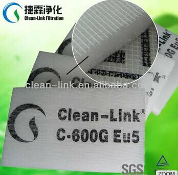 EU5 Ceiling Filter for Paint Spray Booth factory