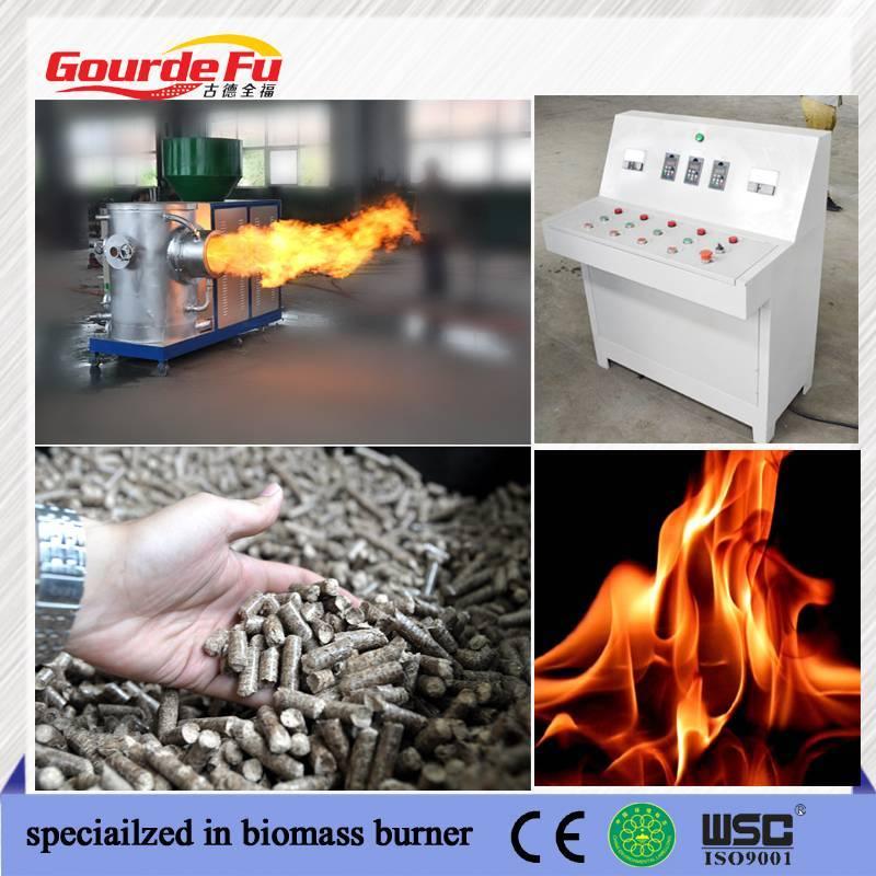 steam boiler biomass pellet boiler burner