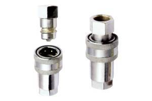 Sell Close Type Hydraulic Pressure Quick Couplings (Steel)