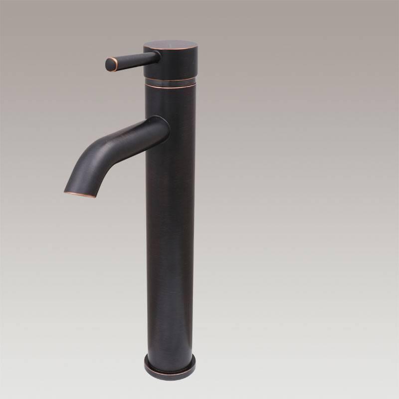 Single handle vessel faucet,