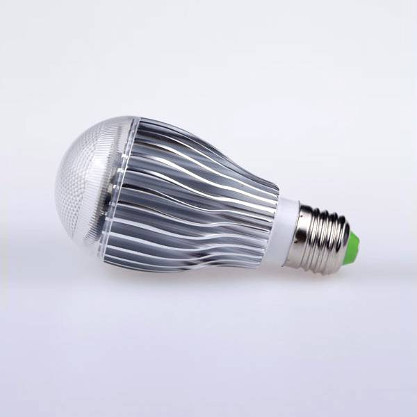 Aluminum body E27 RGB LED bulb light