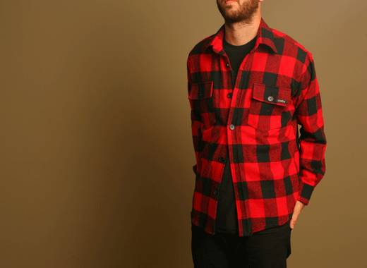Shirt, Flannel,Casual,Sports
