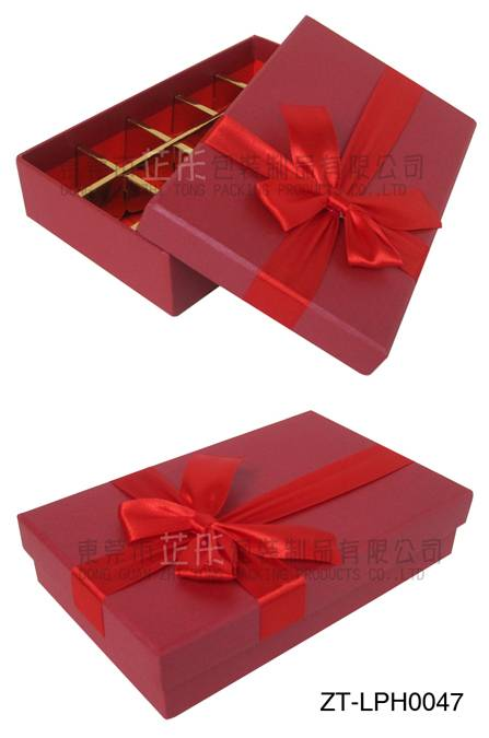 HIgh quality food paper gift packing box