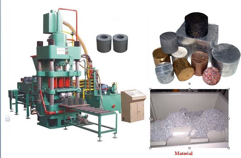 Sale Hydraulic Metal scrap briquette machine