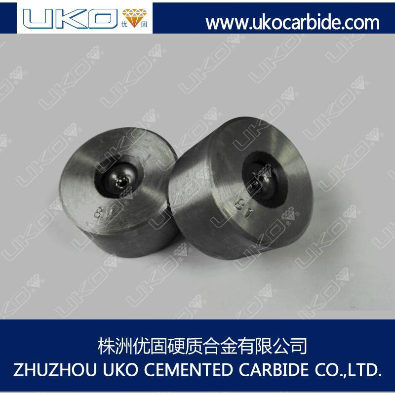 tungsten carbide dies are machined for wire drawing or drawing