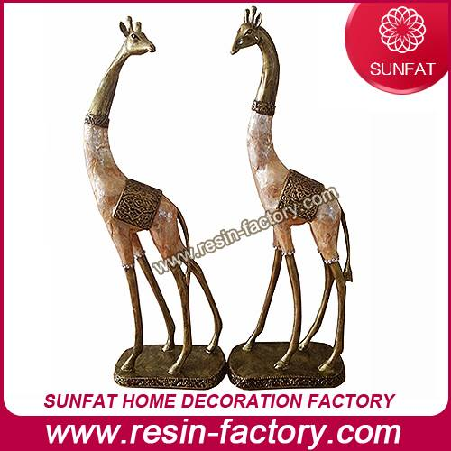 Wholesale home decoration Resin Animal statue