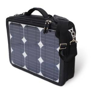 17.5W Solar Laptop Bag with Solar Panel Laptop Charger