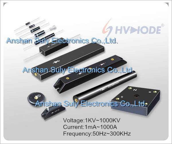 Suly Hvdiode High Voltage Diode/Silicon Block/Rectifier Bridge/Silicon Assembly