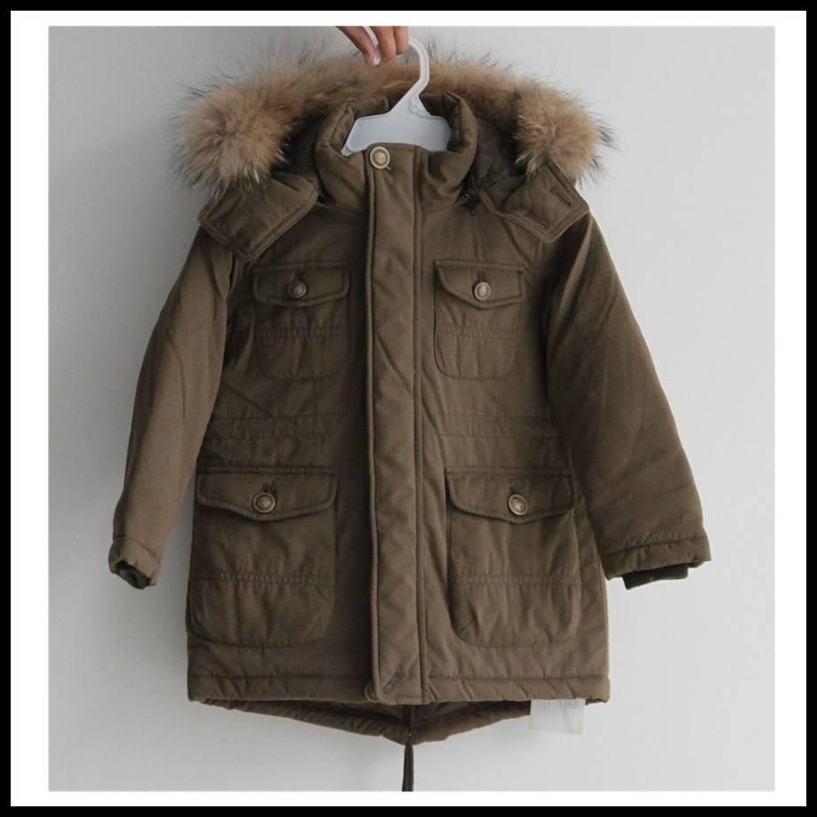 The most popular children winter coats