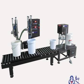 Double Heads Weighing Filling Machine FM-SWD/20L