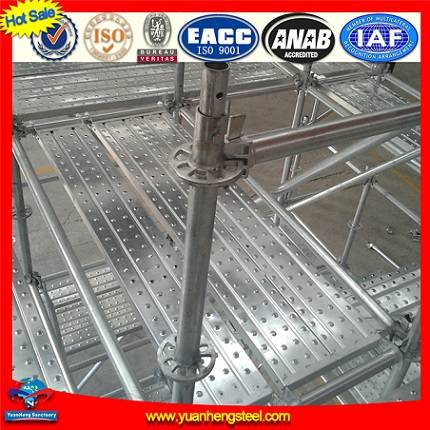 Steel Ringlock Scaffolding For Working Platform Or Support System